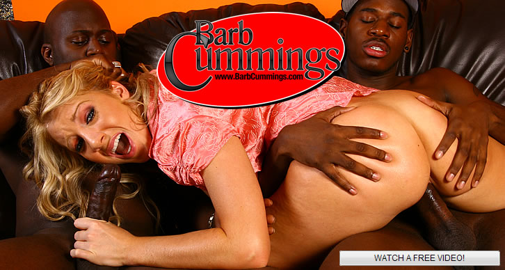 Barb Cummings The Interracial Creampie Queen!