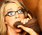 Massive Cream In My Pie - Barb Cummings Interracial Creampie